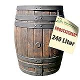 Regenwassertonne Eichenfass 50l / 120l / 240l / 450 Liter