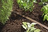 Gardena 1999-20 Schlauch Regner, feiner Sprühregen, Anschlussfertig, Verkürzbar und Verlängerbar (Schlauchlänge: 15m Farbe: Braun) - 3