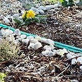 Royal Gardineer Regen Perlschlauch: Schlauch-Regner zur Garten-Bewässerung, flach, 15 m (Gartenregner Schlauch) - 3