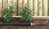Gardena 1969-20 Perl Regner Schlauch, mit allen Anschlussarmaturen, mit Durchfluss- und Druckregulierung, verkürzbar oder verlängerbar (Beregnete Fläche 15qm, Schlauchlänge: 15m) - 4