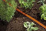 Gardena 996-20 Schlauch-Regner, orange, komplett mit Armaturen, - 6