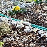 Royal Gardineer Tropfschlauch: Schlauch-Regner zur Garten-Bewässerung, flach, 7,5 m (Perlschlauch für Sprühregen) - 3