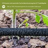 Bewässerungsschlauch Perlschlauch 1/2″ inkl. Verbindungsstücke 15 m - 5