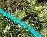Sprühschlauch für pflanzenschonende Bewässerung | Schlauchregner für feinen Sprühregen | Flacher Gartenschlauch mit 3 Kanälen und ½ Zoll Anschluss | Jardinax - 5