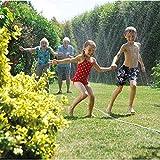Hozelock Garten Schlauch Sprinkler-Schlauch 7,5 Meter und Grundaussattung, Bewässerungsfläche, Mehrfarbig, Max. 50 m² - 2