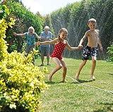 Hozelock Garten Schlauch Sprinkler-Schlauch 15 Meter und Grundausstattung, Bewässerungsfläche, Mehrfarbig, max. 54 m² - 3