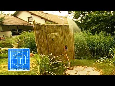 Garten-Dusche anlegen | ToolTown Garten