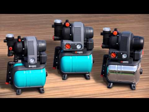 GARDENA Bewässerung   Hauswasserwerke & Hauswasserautomaten