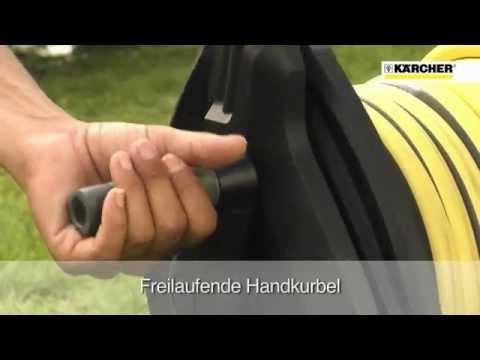 Kärcher Gartenschlauch Schlauchtrommel Produktvideo