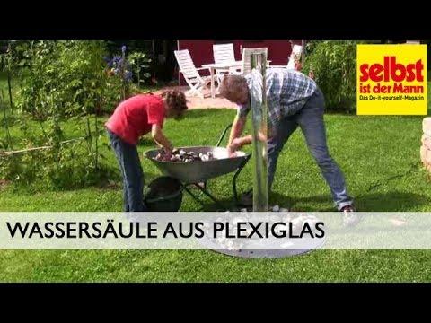 Wassersäule aus Plexiglas bauen