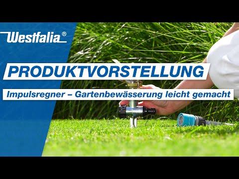 Westfalia Impulsregner - für die einfache und praktische Bewässerung
