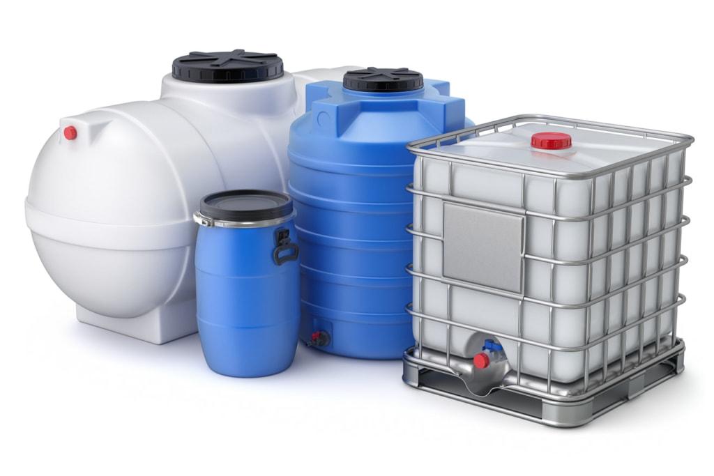 Wassertank Gartenbewässerung